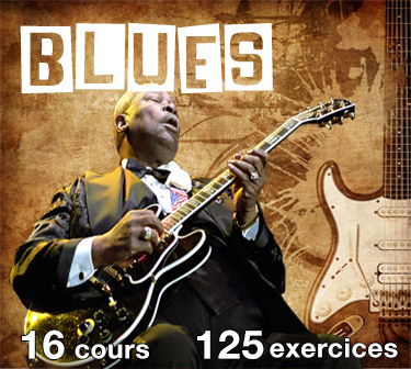 cours de guitare blues