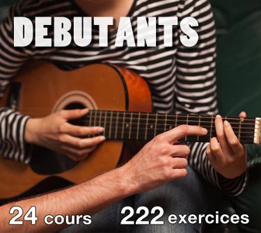 cours de guitare débutant