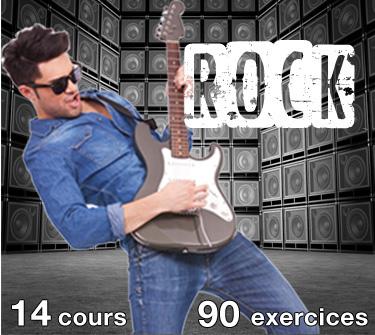 cours de guitare rock