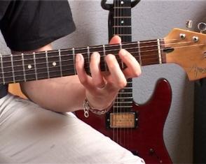 Les riffs blues single note
