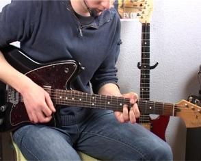 Riffs blues en accord, rythmique et chromatisme