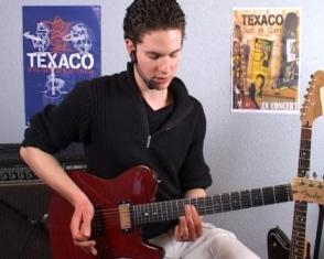 Triades mineures et majeures dans le blues