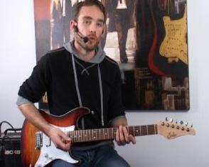 Construction des solos et de l'improvisation rock